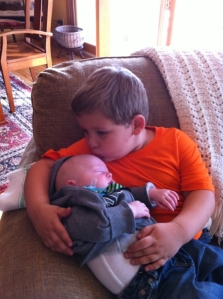 Cousin Mason and Coleman